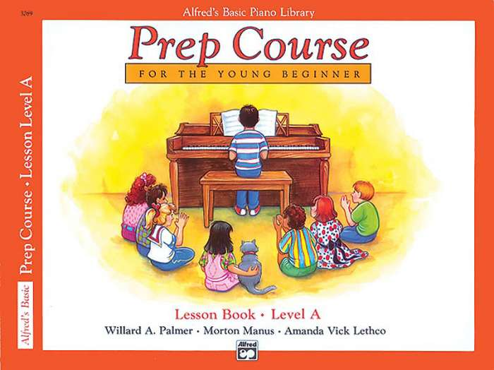 Alfred's Basic Piano Prep Course - Lesson Book Level A