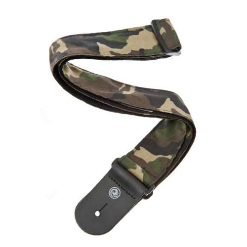 Camouflage Guitar Strap