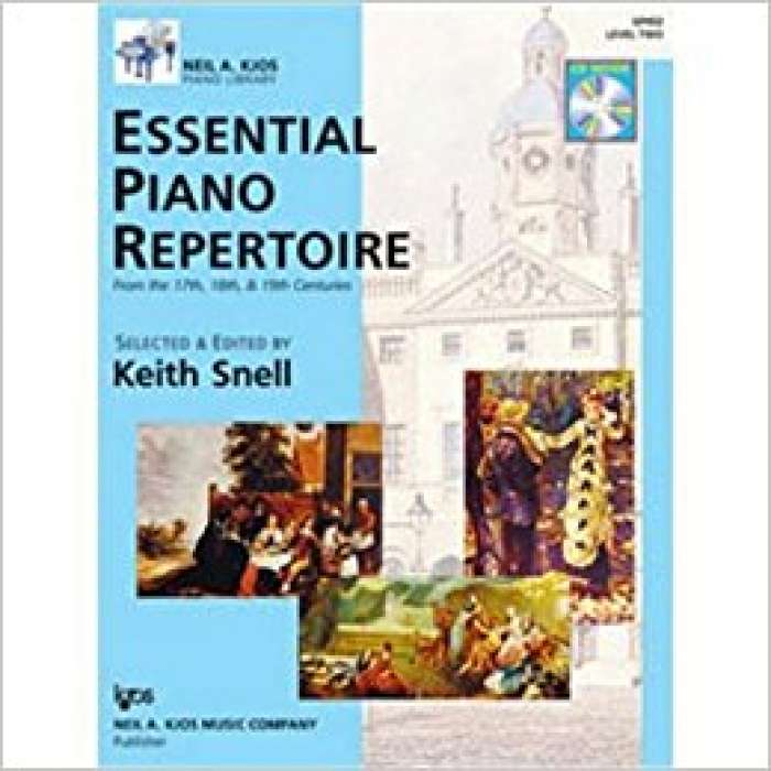 Essential Piano Repertoire of the 17th, 18th, & 19th Centuries Level 2