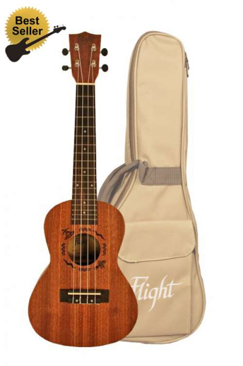 Flight Concert Uke 310 with Gig Bag
