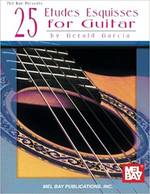 25 Etudes Esquisses for Guitar (Editiones Classicae)