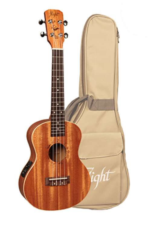 Flight Tenor Uke  DUT 34 with Preamp Gig Bag