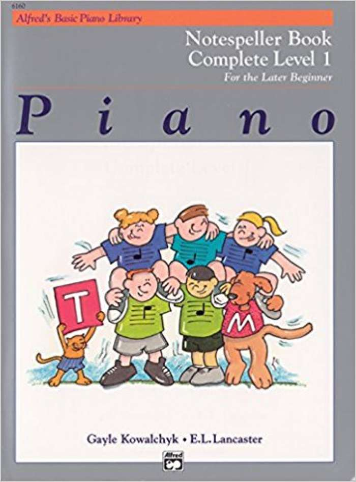 Alfred's Basic Piano Library Notespeller Complete, Bk 1
