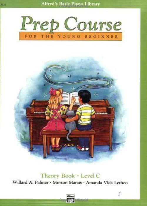 Alfred's Basic Piano Prep Course for the Young Beginner: Theory Book, Level C