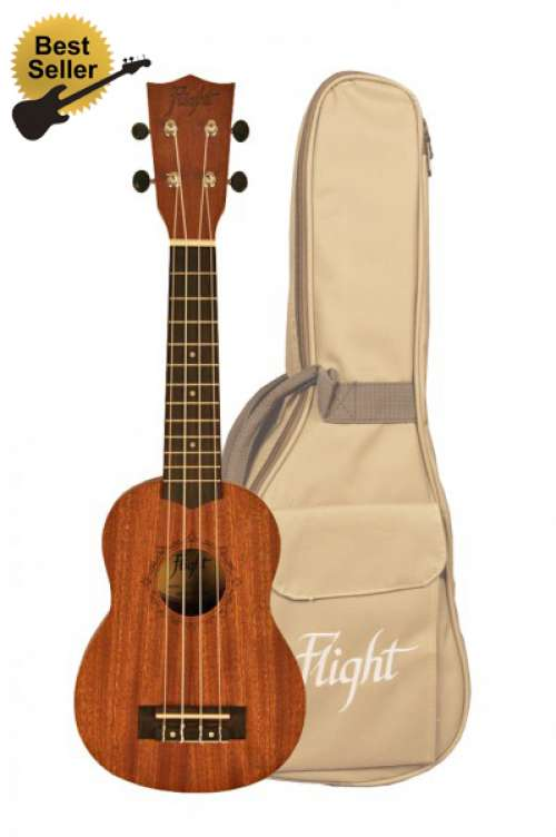Flight Soprano Uke 310 with Gig Bag
