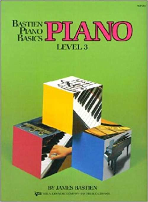 Bastien Piano Basics - Piano Level 3