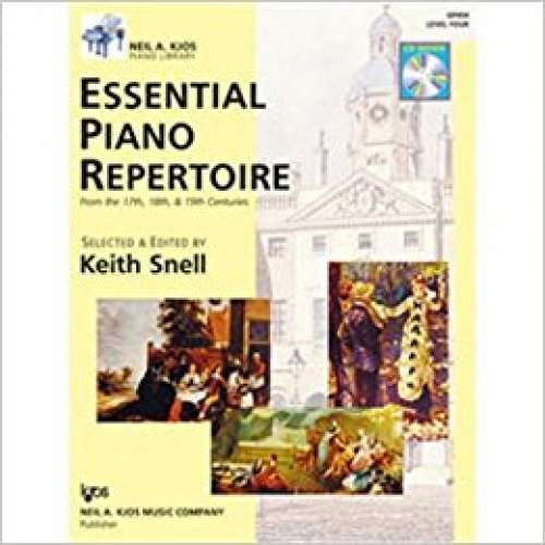 Essential Piano Repertoire of the 17th, 18th, & 19th Centuries Level 4