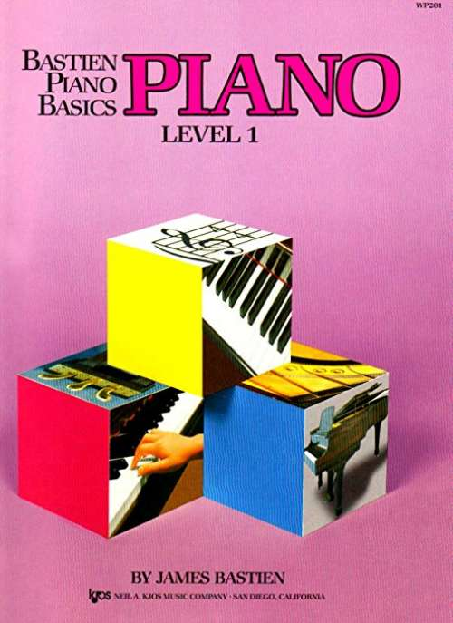 Bastien Piano Basics - Piano Level 1